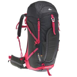 viaggiare-zaino-in-spalla-quechua-zaino-da-donna-30-lt-air-plus