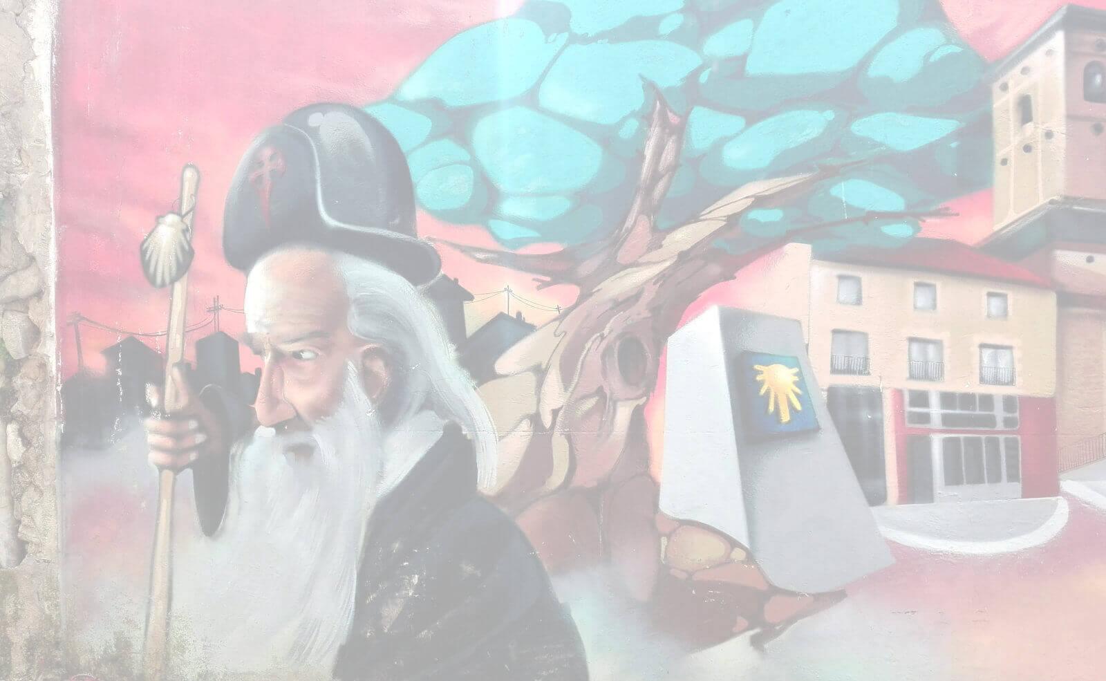 murales-cammino-di-santiago-pellegrino