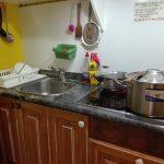viaggiare-zaino-in-spalla-albergue-estella-cucina