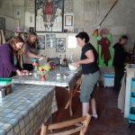 viaggiare-zaino-in-spalla-albergue-san-anton-cucina