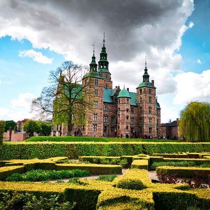 Castello di Rosemborg Copenaghen il parco