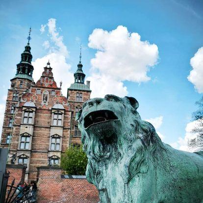 Castello di Rosemborg Copenaghen  leone