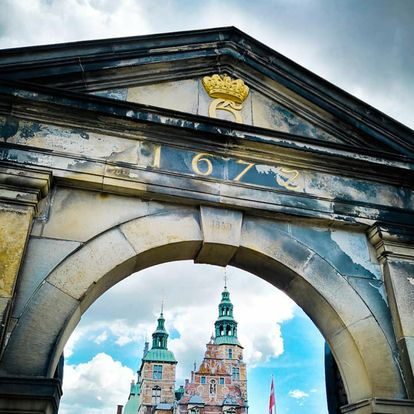 Castello di Rosemborg Copenaghen facciata ingresso