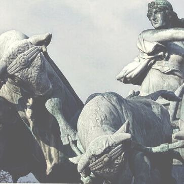 viaggiare-zaino-in-spalla-fontana-di-gefjun-leggenda