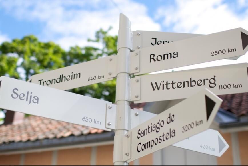 pilgrims rute in danimarca dove si va
