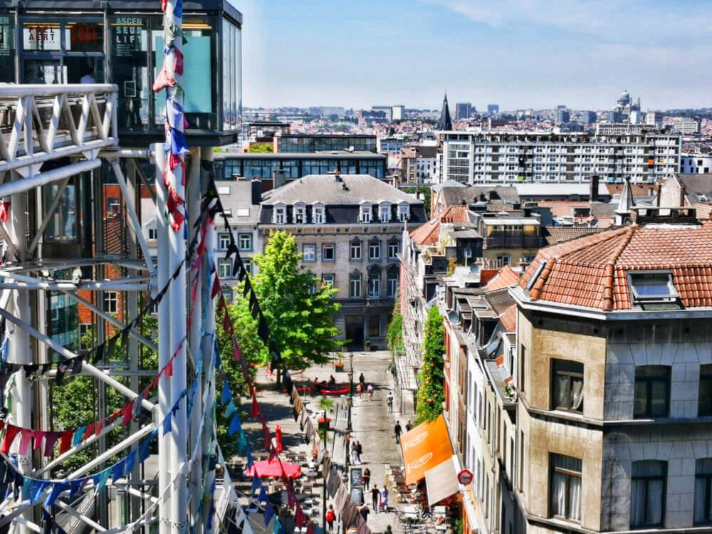 viaggiare-zaino-in-spalla-bruxelles-quartiere-les-marroles-panorama