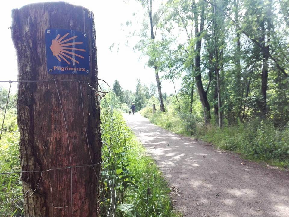 viaggiare-zaino-in-spalla-pilgrimsrute-sentiero-jacobeo-in-danimarca