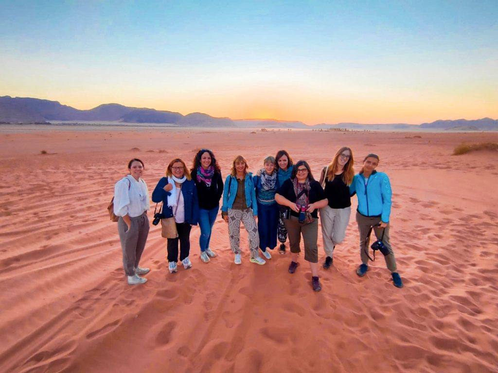 travel blogger italiane fam trip giordania
